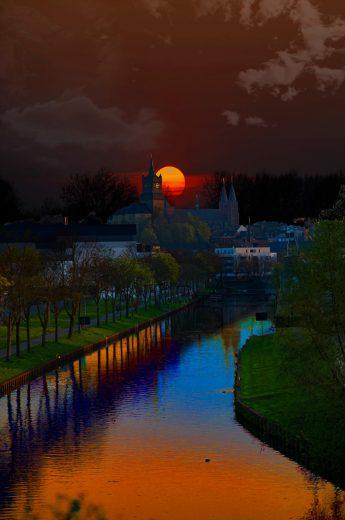 Gece fotoğrafı nasıl çekilir, gece manzarası çekimi, doğru pozlama asıl yapılır, yüksek ISO, uzun pozlama nasıl yapılır