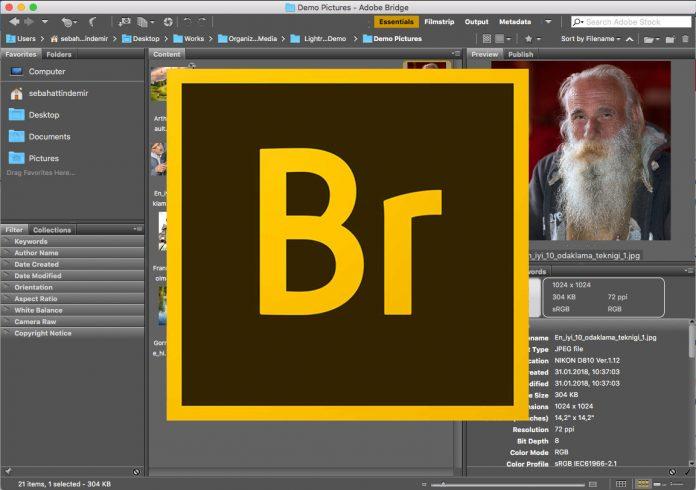 Adobe Bridge Kullanımı