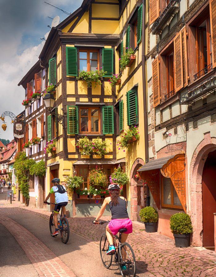 Gezi günlüklerim, Ribeauville, France