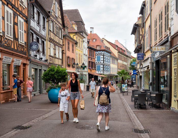 Masalsı Fransız Kasabası; Colmar