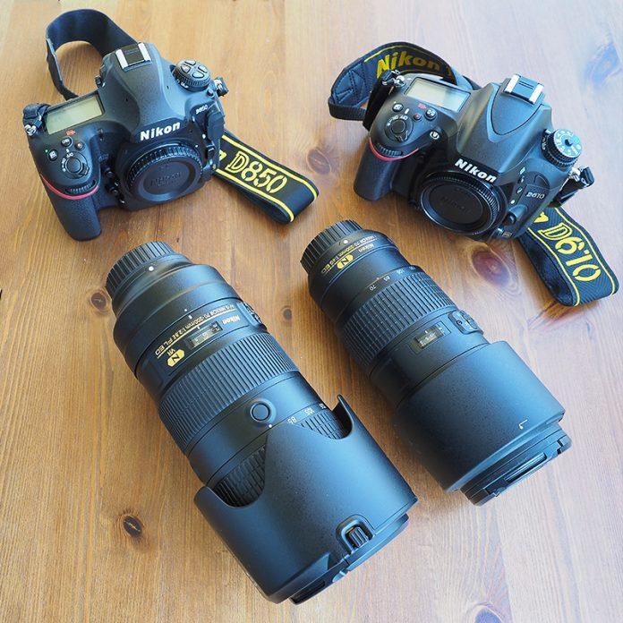 Nikon ekipmanları