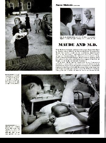 Magnum Fotoğrafçısı W. Eugene Smith ve Ebe Maude Callen