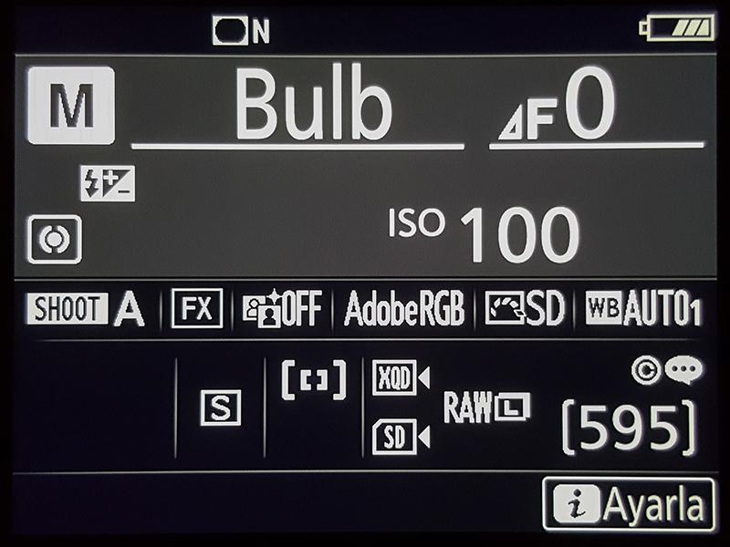 Nikon D850 Bulb Mode