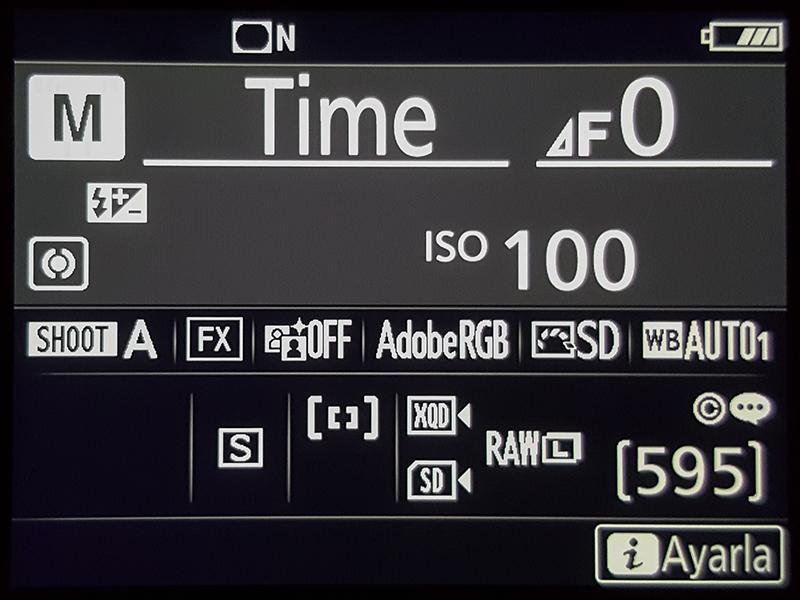 Nikon D850 Time Mode