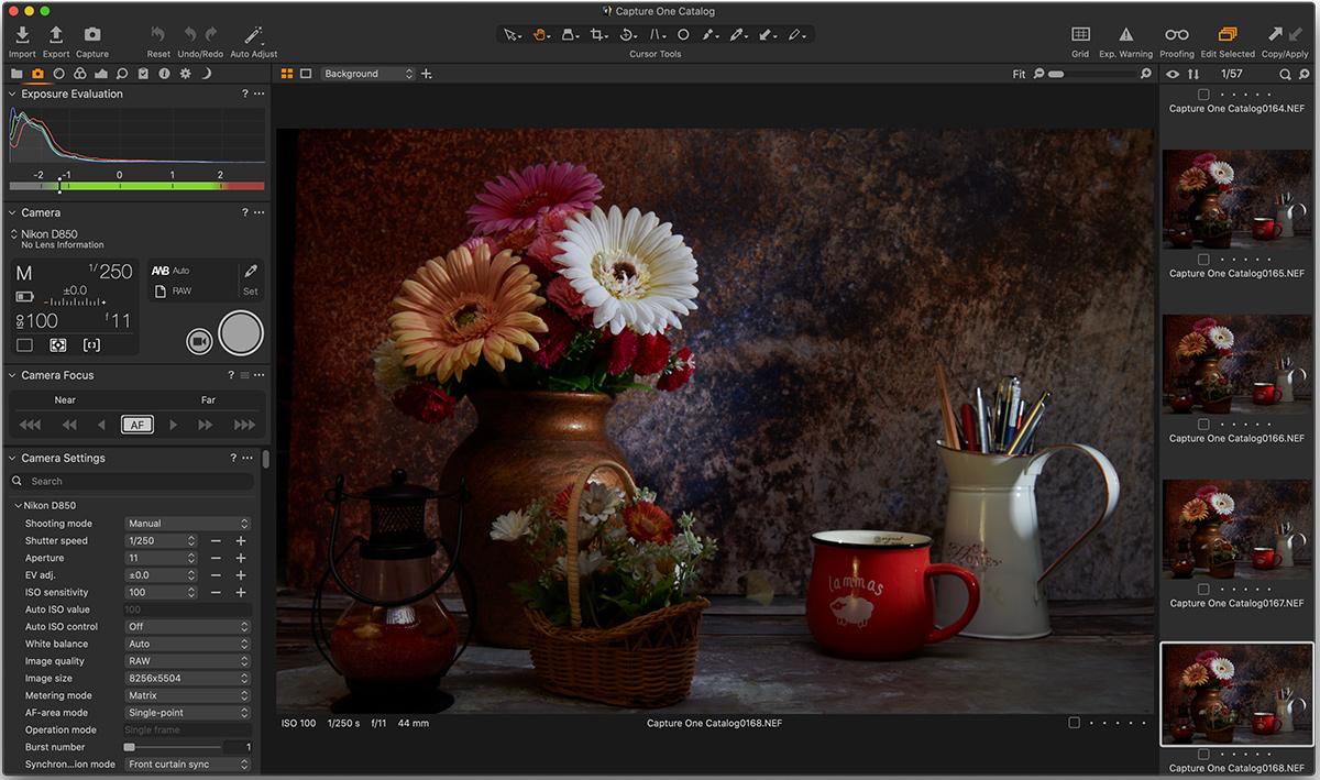 Capture One Pro ekran görüntüsü