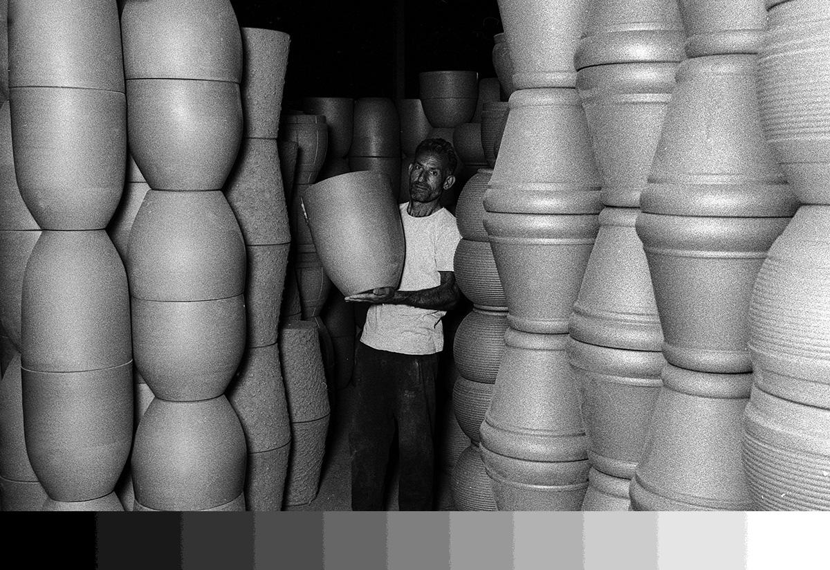 Kısa bir fotoğraf projesi: Menemen çömlek atölyeleri