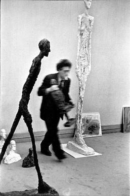 Henri Cartier-Bresson, Photograph of Alberto Giacometti