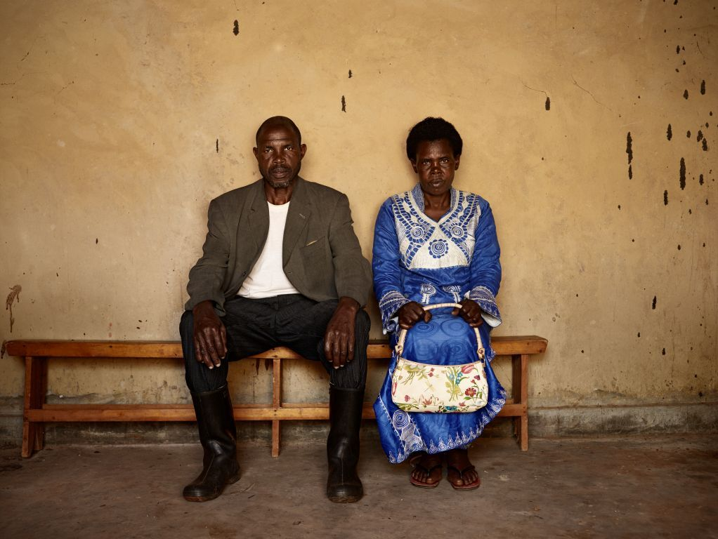 Pieter Hugo, Man and woman