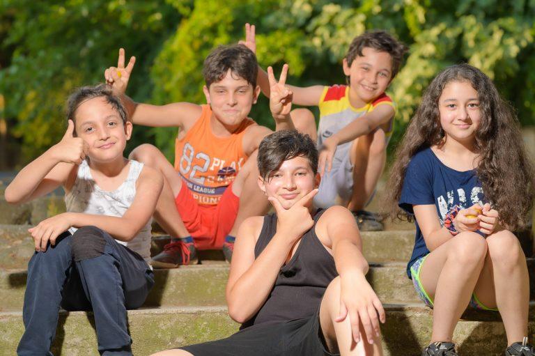 5 fotoğraf ile sokağımın çocukları