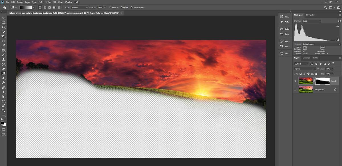 """Photoshop'da """"Apply Image"""" özelliğini kullanmak"""