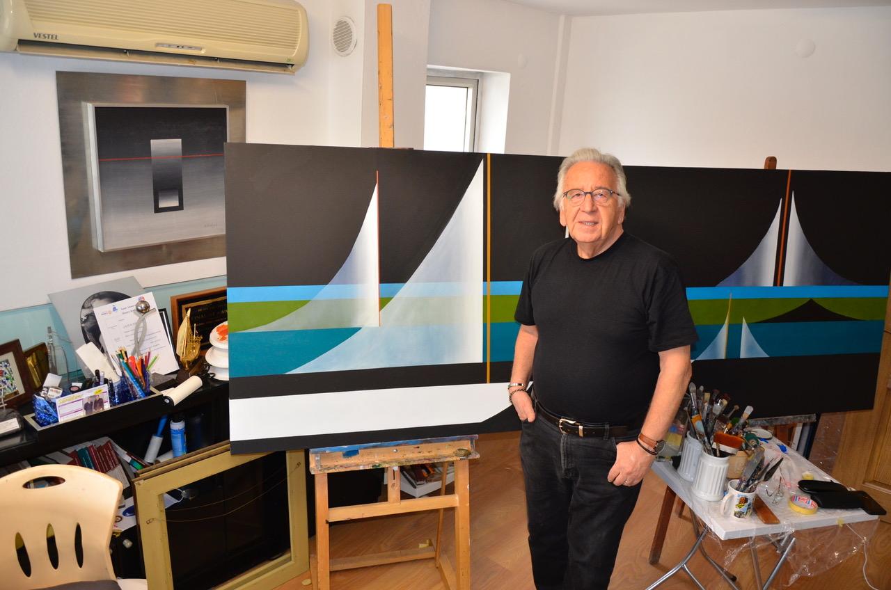 Ressam Çetin Erokay ile resim üzerine söyleşi