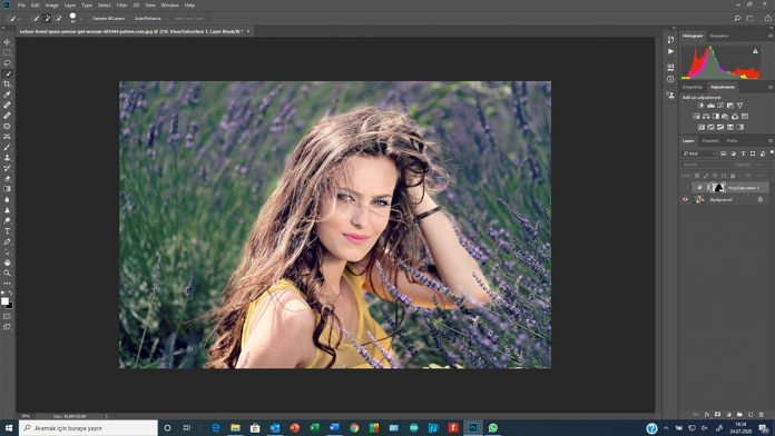Photoshop'da Select & Mask (Seçim ve Maske)
