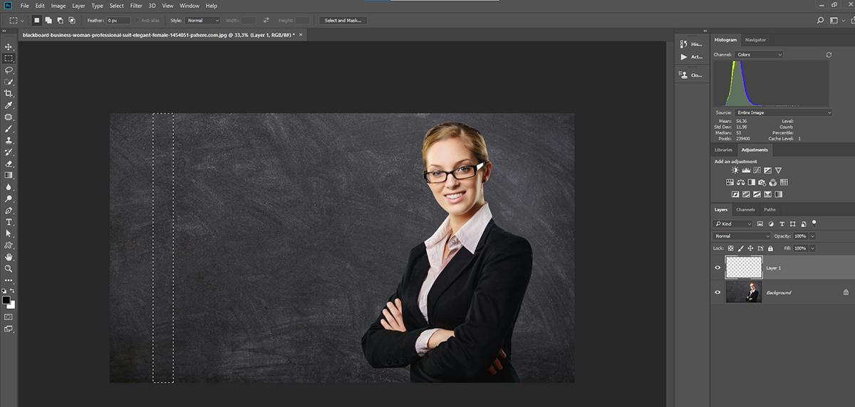 Photoshop'da Kopyala- Yapıştır (Copy & Paste ) kolaylığı