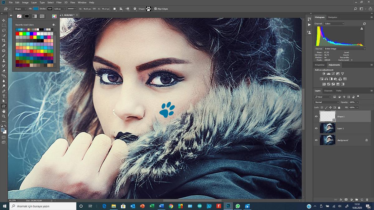 Photoshop'da Layer Effects kullanımı
