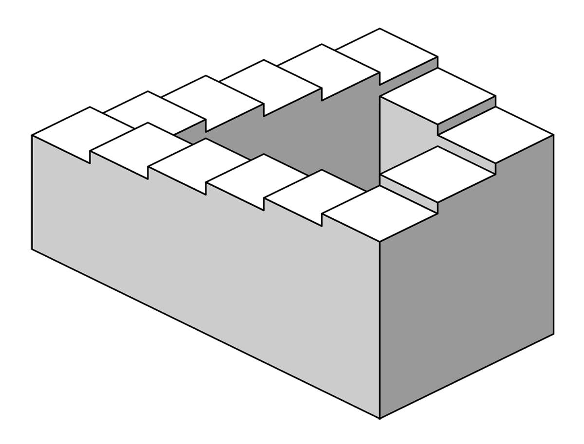 Bir Fotoğrafın Göstergesi: Penrose Merdiveni…