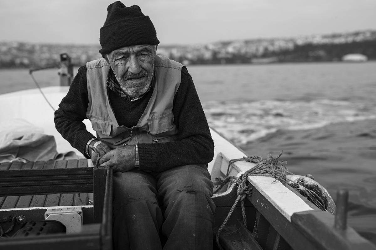 5 Fotoğraf ile Tekirdağ'lı Emektar Balıkçı